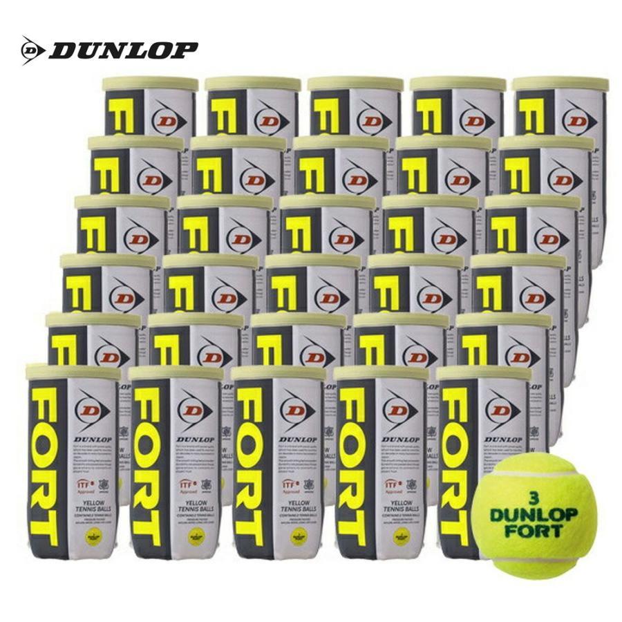 365日出荷 DUNLOP ダンロップ FORT 購入 フォート 2個入 60球 テニスボール 即日出荷 1箱 フォート60周年キャンペーン対象 30缶 キャンペーンもお見逃しなく