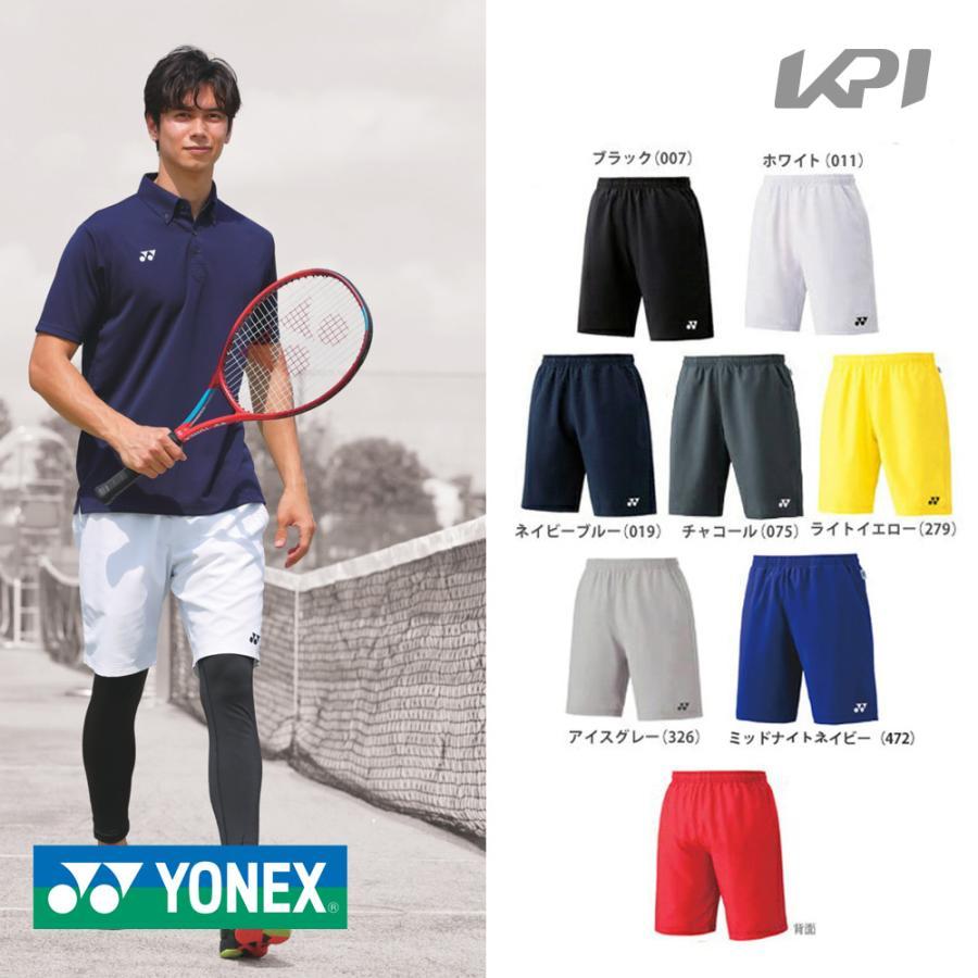 ポスト投函便 送料無料 YONEX ヨネックス Uni 公式ショップ ユニハーフパンツ バドミントンウェア 15048 スリムフィット テニス 冷感 着後レビューで 夏用
