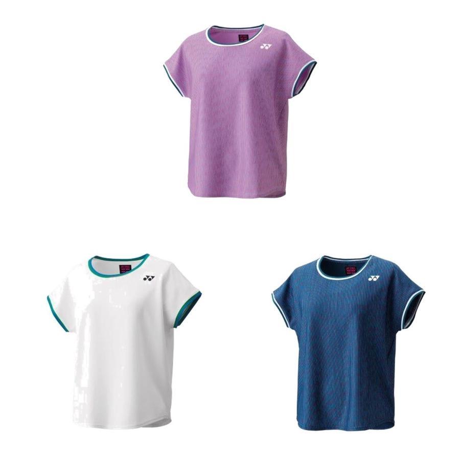 ヨネックス 送料無料/新品 発売モデル YONEX テニスウェア レディース ウィメンズゲームシャツ 2021SS 20579