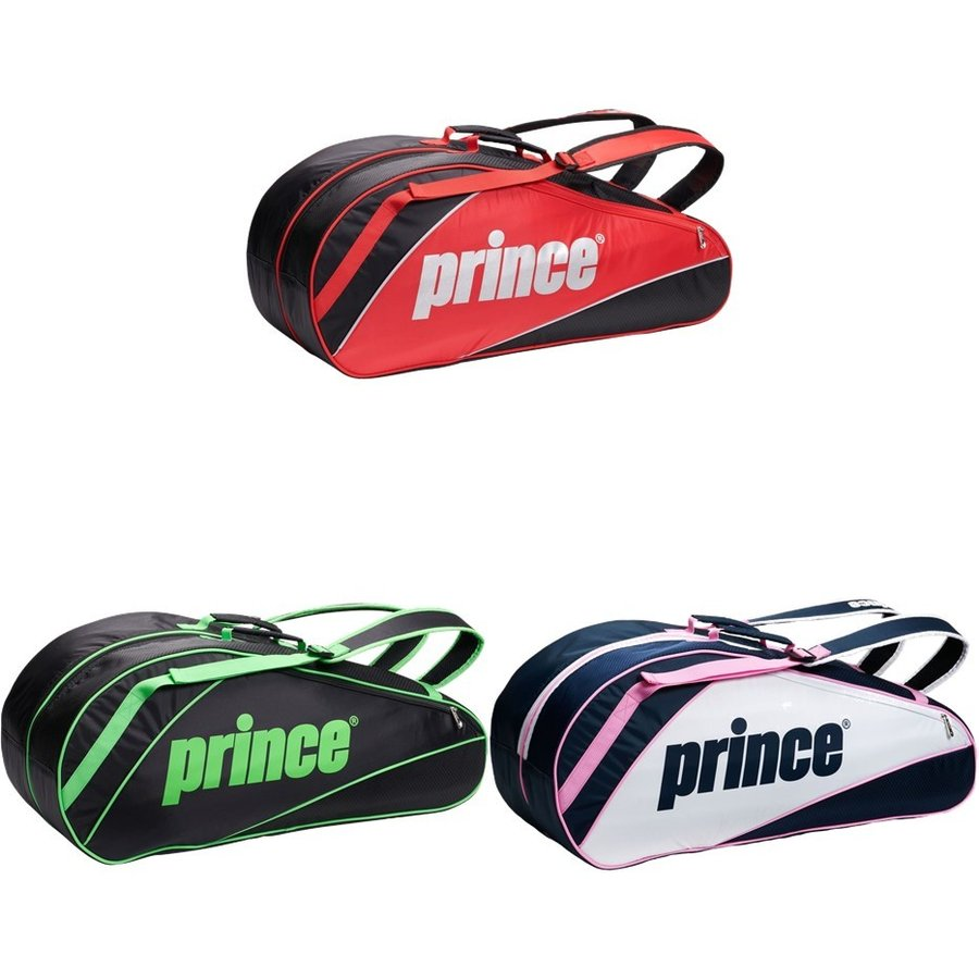プリンス 即納最大半額 Prince テニスバッグ 豪華な ケース ATシリーズ ラケットバッグ6本入 AT072