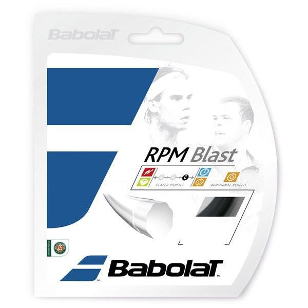 「■5張セット」BabolaT バボラ 「RPM Blast RPMブラスト 120/125/130/135 BA241101」硬式テニスストリング ガット