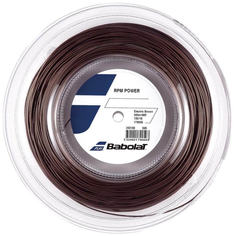 バボラ Babolat テニスガット ストリング RPM POWER 200mロール 130 125 BA243139 値下げ 高額売筋 RPMパワー