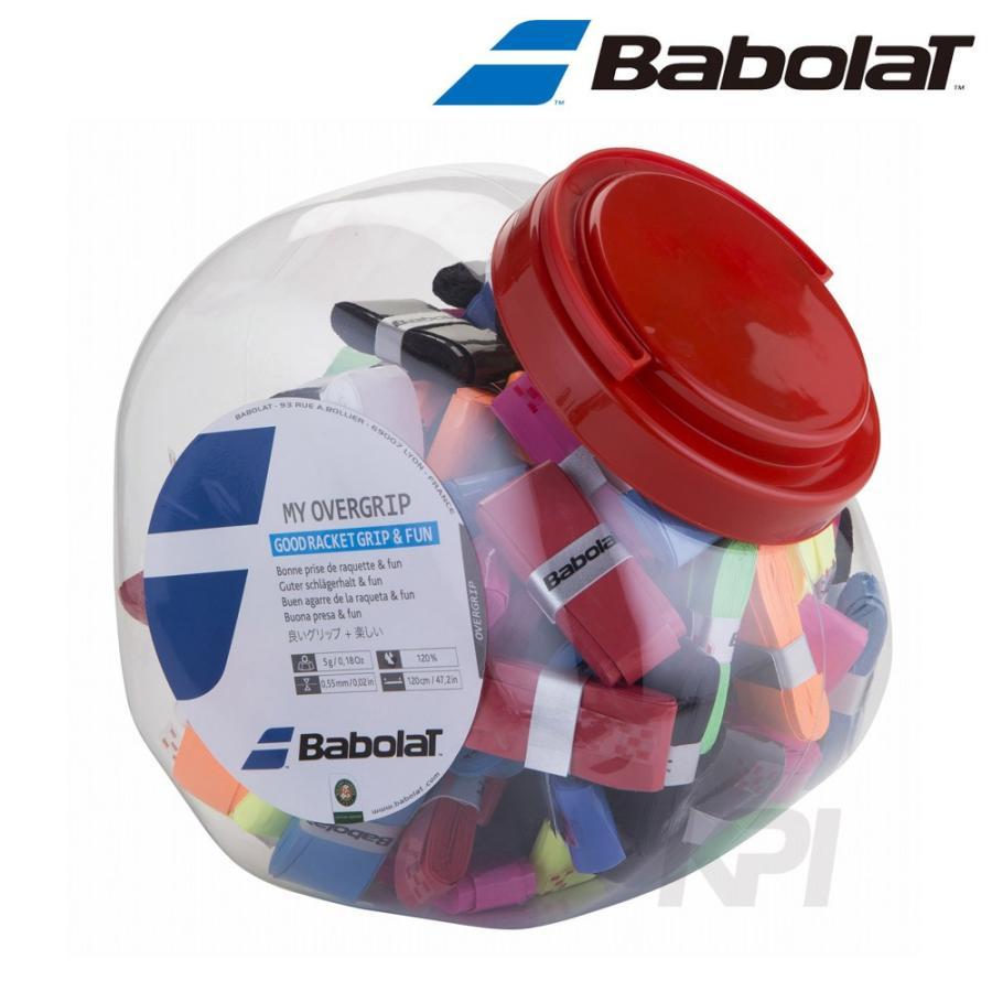 バボラ BabolaT 「My Grip マイグリップ×70 70本入/3デザイン9色アソート BA656006」オーバーグリップテープ「KPI」