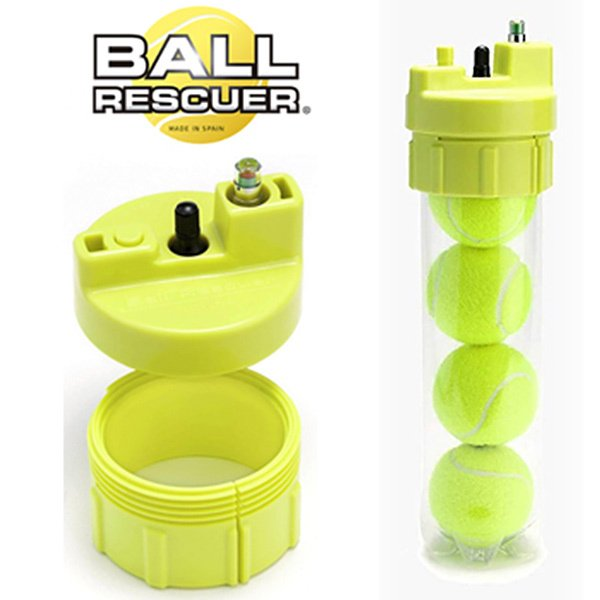 ボールレスキュー Ball Rescuer 単体 マーケット 空気入れ付属無 ball-rescuer 回復装置 テニスボール空気圧維持 新作続 テニスアクセサリー 即日出荷