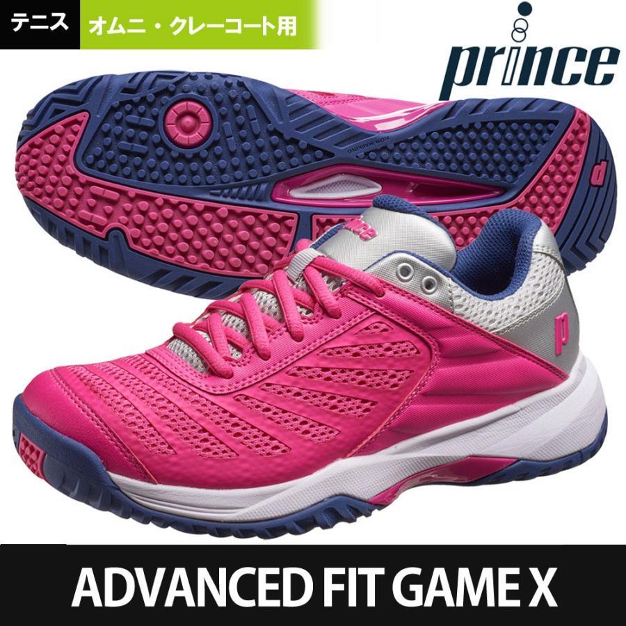 プリンス Prince テニスシューズ ADVANCEDFIT GAME X CG アドバンスドフィット ゲーム 10 オムニ・クレーコート用テニスシューズ DPS802L