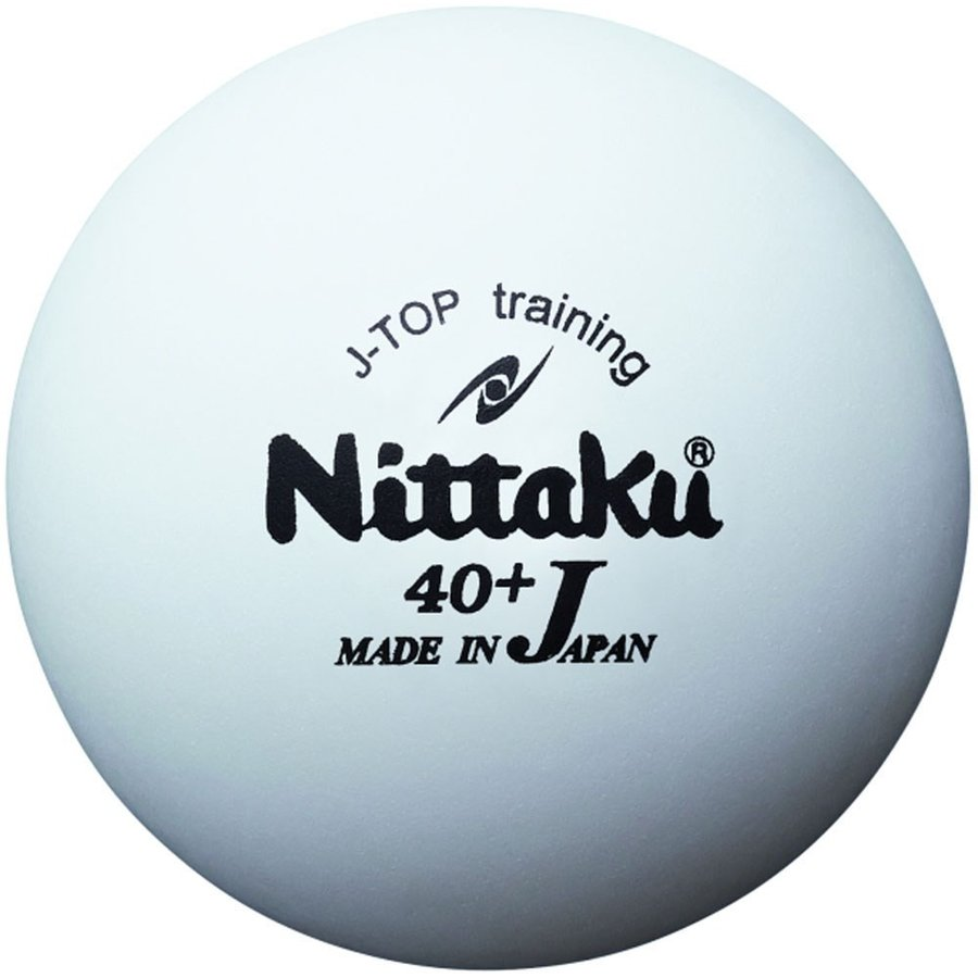 Nittaku ニッタク 注目ブランド 卓球 練習用ボール ジャパントップトレ球 NB1366 5ダース 男女兼用 卓球ボール 60個入り