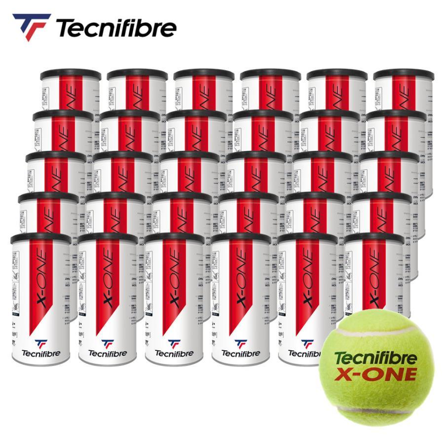 365日出荷 テクニファイバー Tecnifibre テニスボール X-ONE エックスワン 2個入 1箱 ITF TBA2XE1 60球 即日出荷 30缶 公認球 在庫一掃 JTA 期間限定特価品