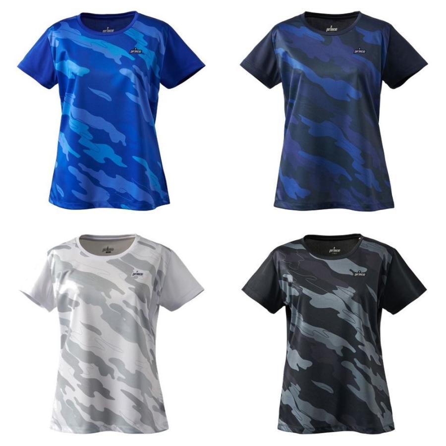 プリンス Prince テニスウェア レディース 当店一番人気 2021SS 注目ブランド TML179T ゲームシャツ