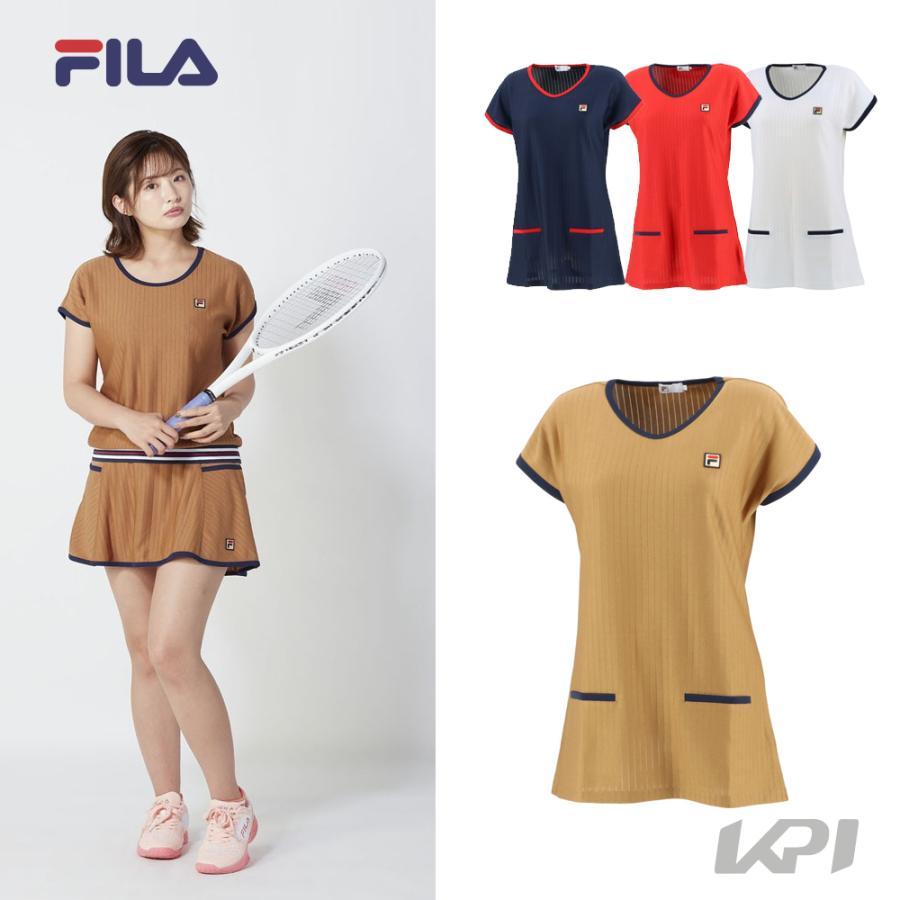 フィラ 最安値に挑戦 店内全品対象 FILA テニスウェア レディース VL2322 2021SS チュニック