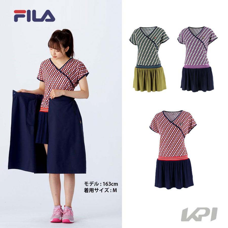 セール 上品 フィラ FILA テニスウェア レディース ワンピース VL2364 2021FW