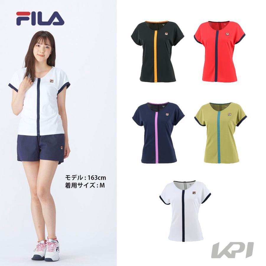 フィラ FILA テニスウェア セール レディース 2021FW ゲームシャツ VL2367 豊富な品