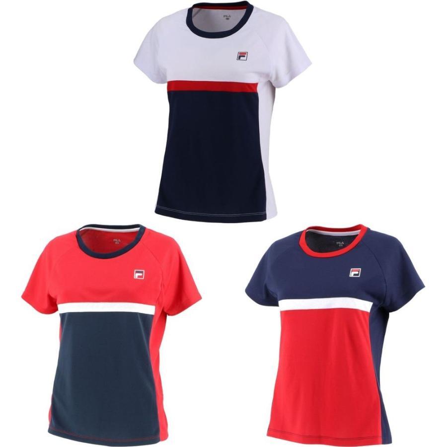 フィラ FILA テニスウェア 人気急上昇 レディース ゲームシャツ VL7500 ウィメンズ お買い得品 2020SS