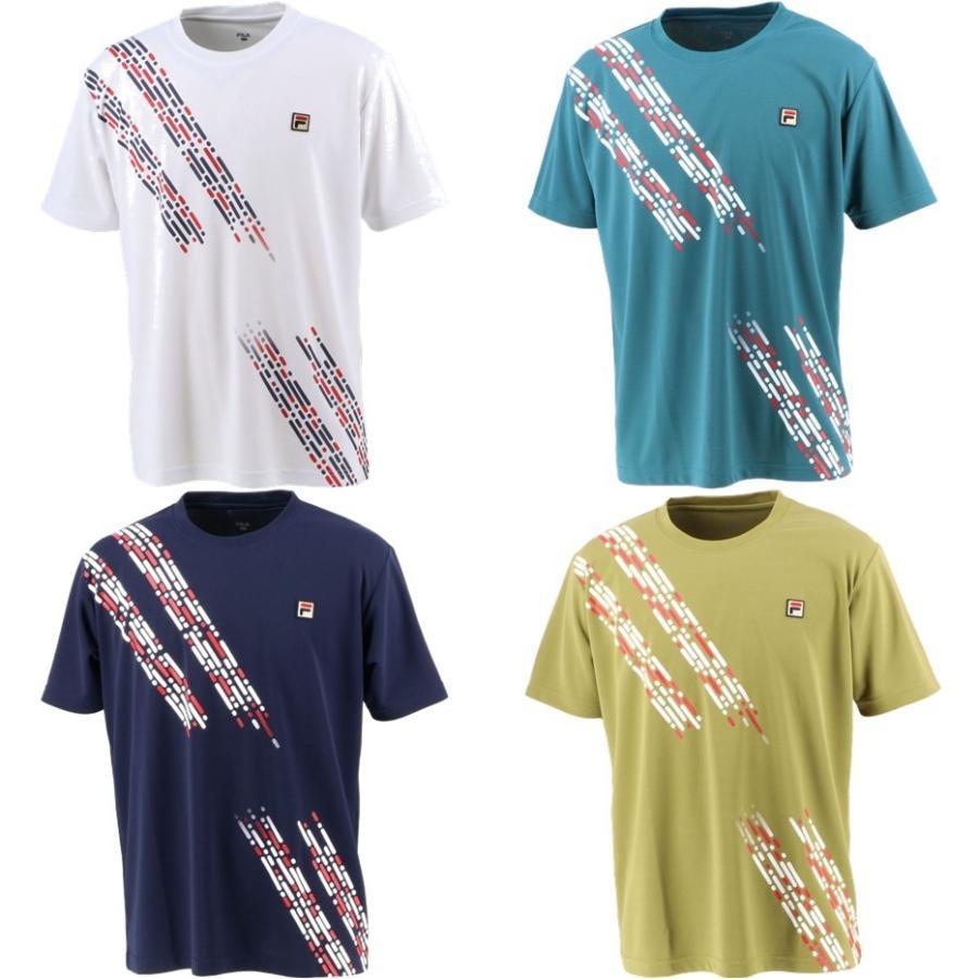 フィラ 受注生産品 FILA テニスウェア メンズ ゲームシャツ 宅配便送料無料 2021FW VM5548