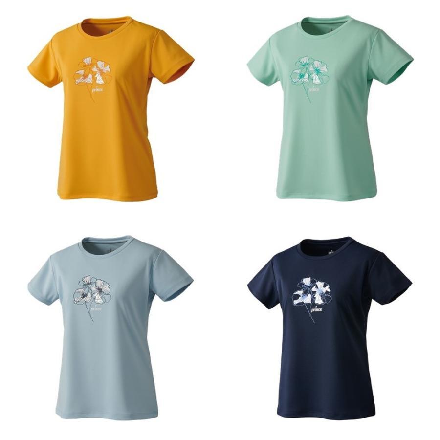 プリンス Prince 毎日がバーゲンセール テニスウェア レディース 2021FW Tシャツ WF1056 値下げ