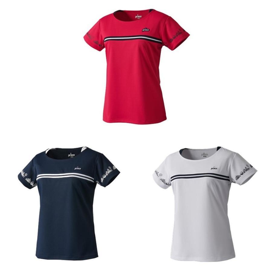 プリンス タイムセール Prince 定番 テニスウェア レディース ゲームシャツ WF1069 2021FW