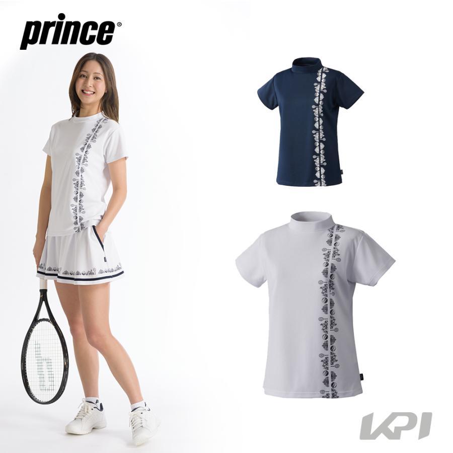 プリンス Prince テニスウェア 大好評です 物品 レディース 2021FW ゲームシャツ WF1070