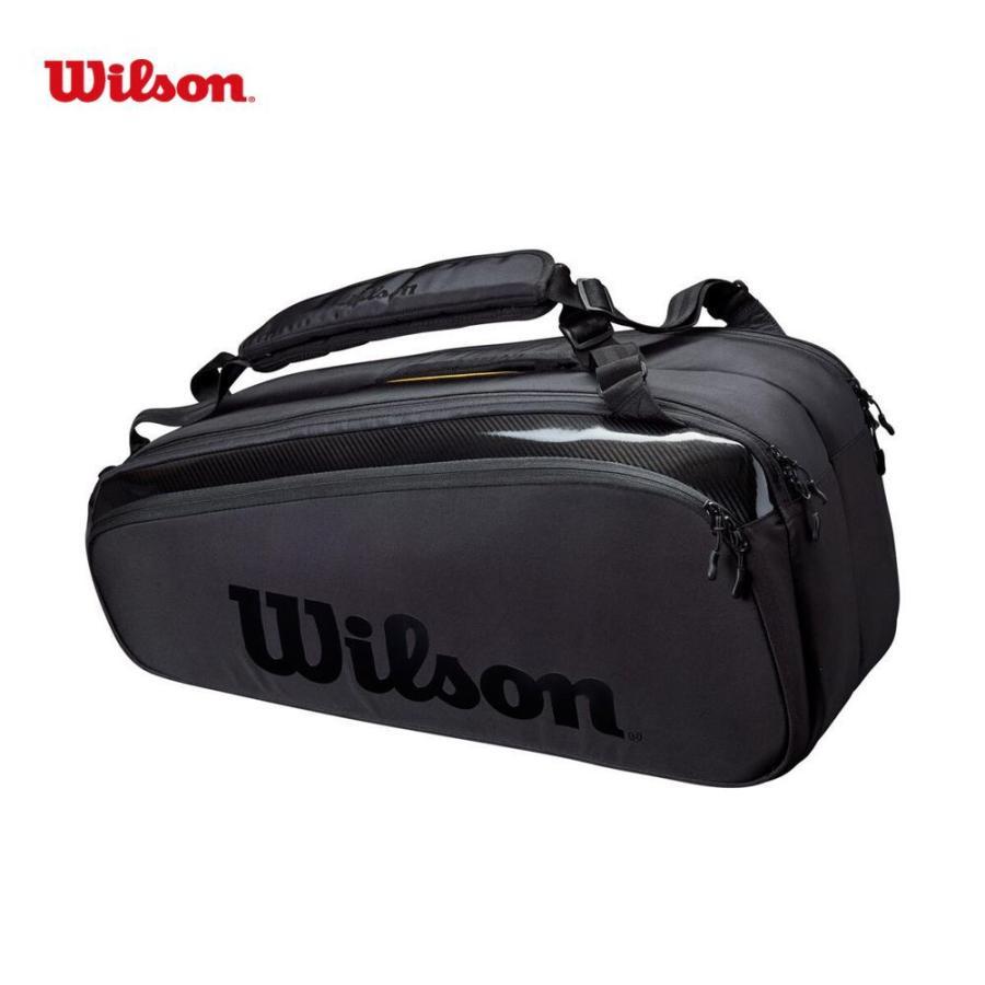 ウイルソン Wilson テニスバッグ ケース SUPER TOUR スーパーツアー 卸直営 9PK ラケットバッグ 9本収納可能 品質保証 WR8010601001