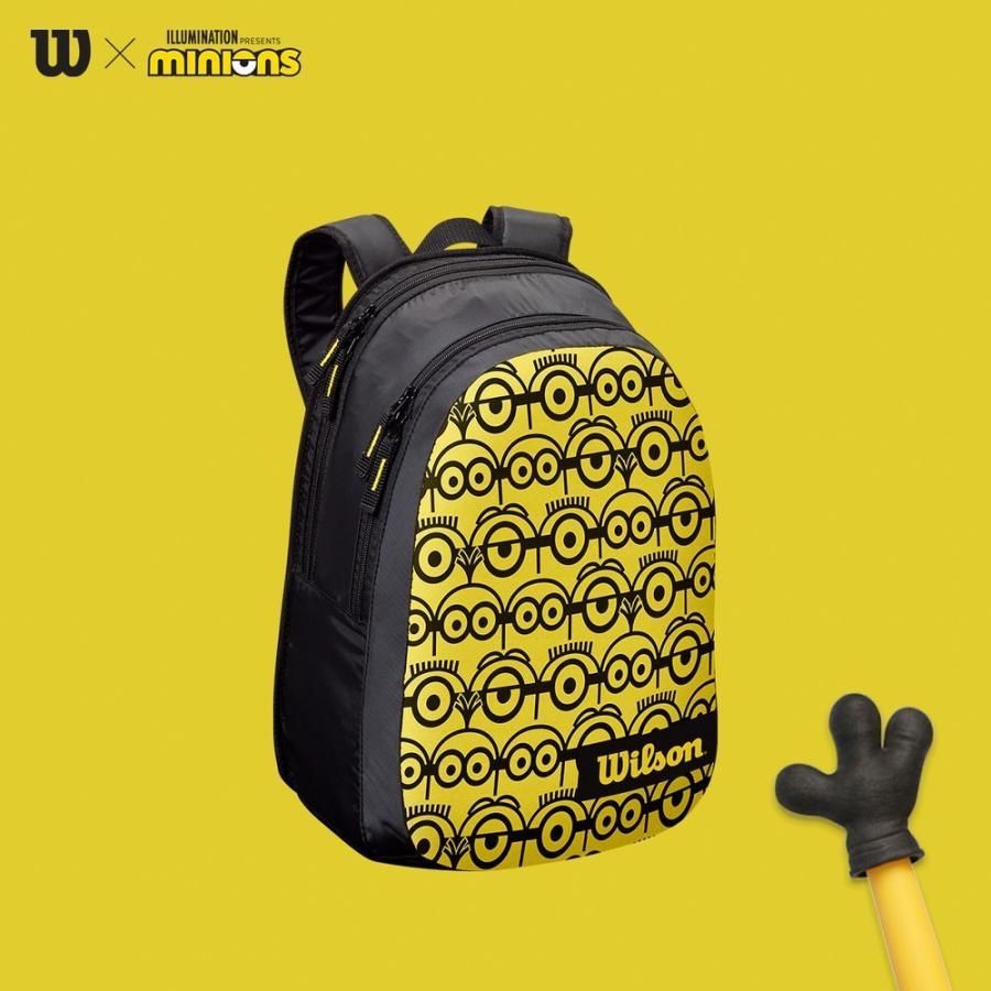 ウイルソン Wilson テニスバッグ ケース MINIONS ギフト 今季も再入荷 JR ミニオンズ WR8014001001 ジュニアバックパック BACKPACK 即日出荷