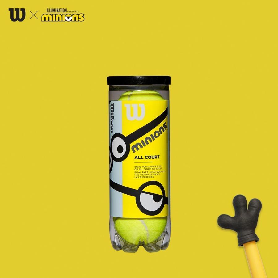 ウイルソン Wilson ジュニアテニスボール MINIONS STAGE 1 人気の定番 休み TBALL 即日出荷 WR8202501001 3個入 ステージ1 ミニオンズ 1缶