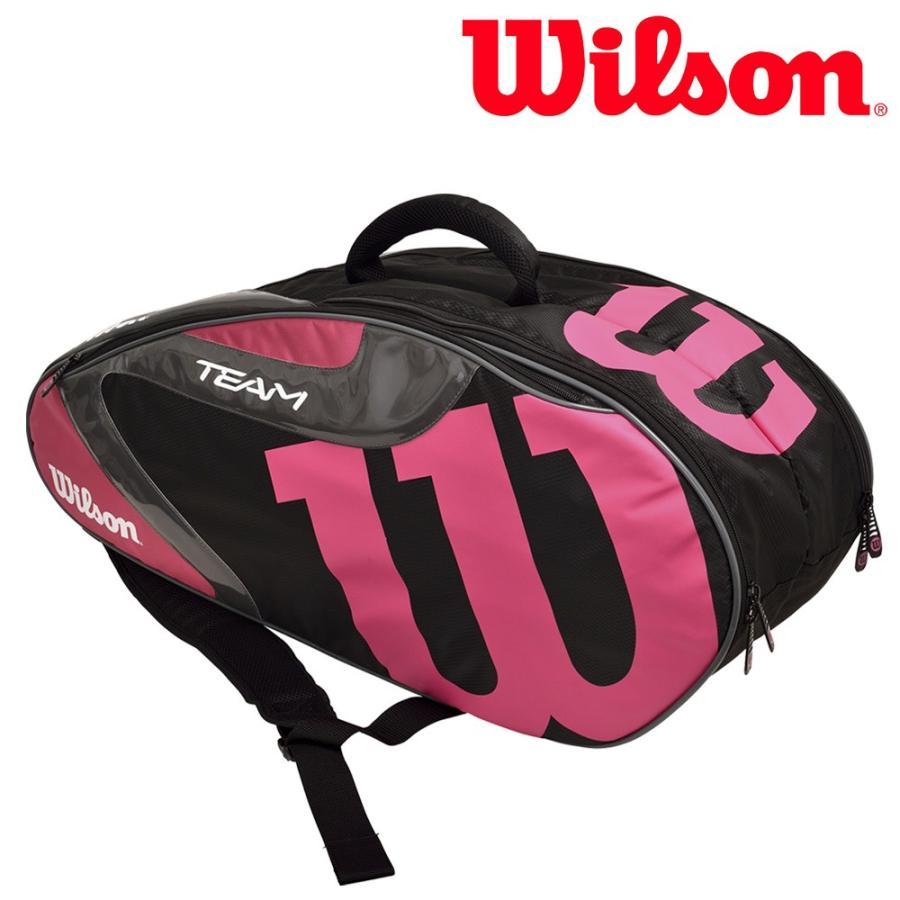 ウイルソン Wilson テニスバッグ・ケース TEAM J 6 PACK チームJ6パック ラケットバッグ WRZ640806