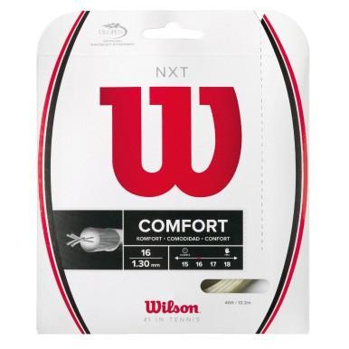 Wilson ウイルソン 激安卸販売新品 NXT 16 超激安特価 WRZ942700 硬式テニスストリング ガット