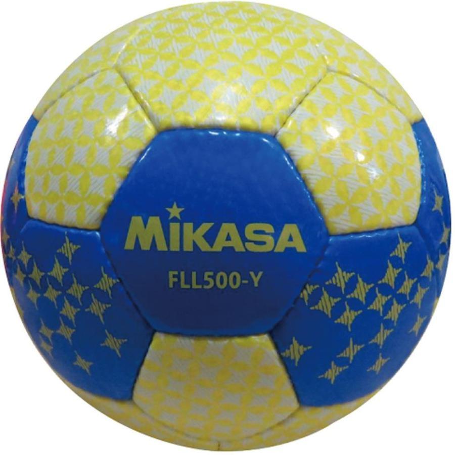 ミカサ MIKASA フットサルボール フットサル4号検定球 FLL500 イエロー FLL500Y
