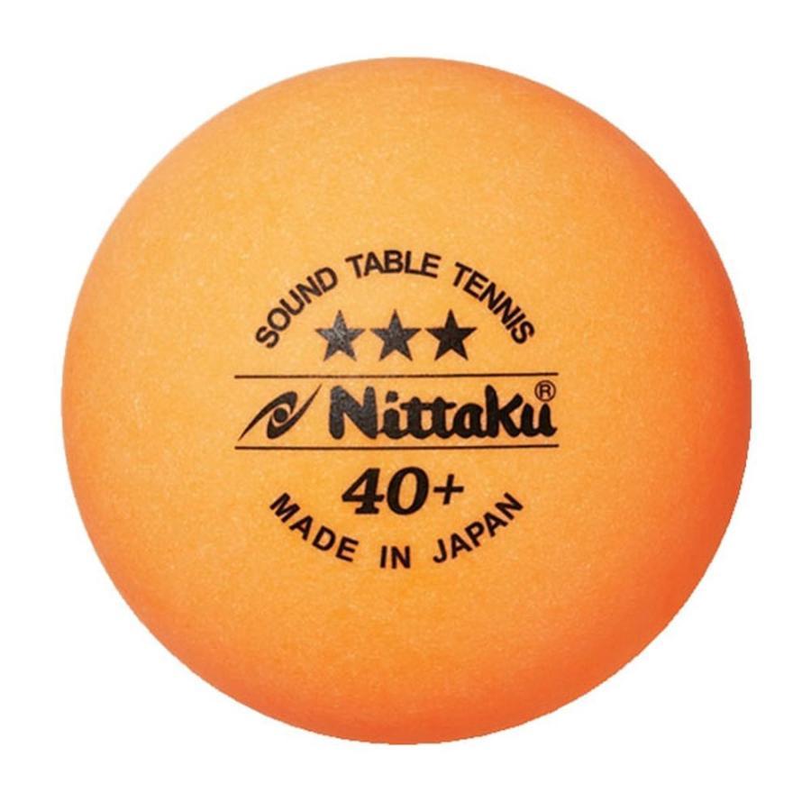 ニッタク Nittaku 卓球ボール プラ サウンドボール 3コイリ 4セット NB1610-4