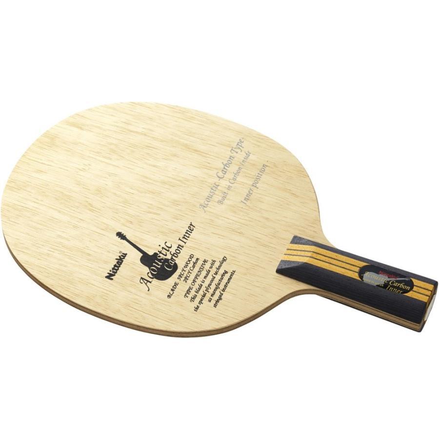 Nittaku ニッタク [「卓球 中国式ペンラケット」 アコースティックカーボンインナーC NC0192]卓球ラケット