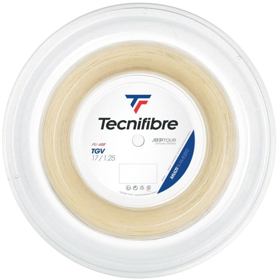 テクニファイバー Tecnifibre テニスガット・ストリング TGV ティージーブイ 1.25mm 200mロール TFR205 『即日出荷』