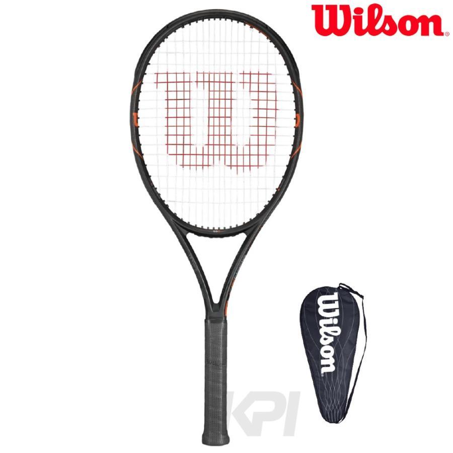 Wilson ウイルソン 「BURN FST 99S バーンFST 99S WRT729210」硬式テニスラケット スマートテニスセンサー対応 「ウイルソンラケットセール」 『即日出荷』