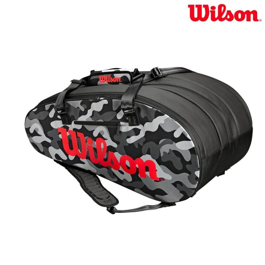ウイルソン Wilson テニスバッグ・ケース SUPER TOUR CAMO Edition スーパーツアー カモフラージュ CAMOUFLAGE ラケットバッグWRZ831814『即日出荷』