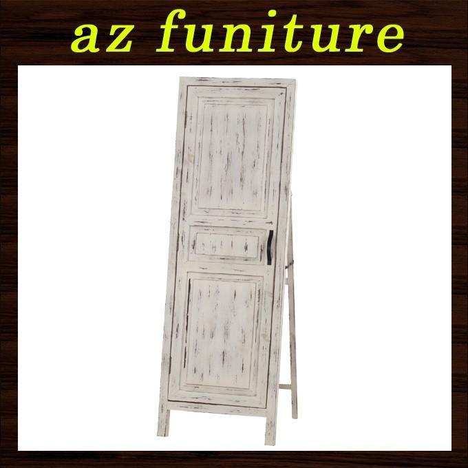 スタンドミラー スタンドミラー 鏡 ミラー 姿見 全身鏡 全身ミラー ドア付きミラー 店舗什器 ディスプレイ雑貨 全身 木製 ドア型 開閉式 扉付き おしゃれ 送料無料