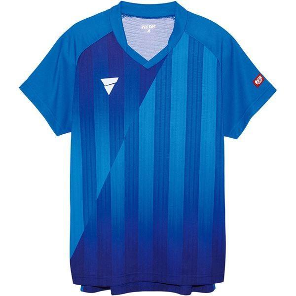 VICTAS(ヴィクタス) VICTAS V-NGS052 ユニセックス ゲームシャツ 31467 ブルー M