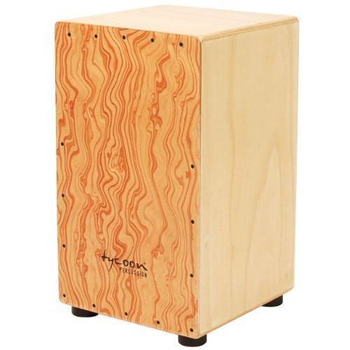 <新品>Tycoon Percussion 29 Series Siam Oak Cajon With Hand Painted Plywood Front Panel