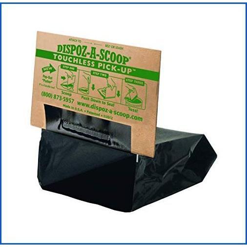 <新品>HealthPro Dispoz-A-Scoop · No Touch, Sanitary Dog Poop Scoopers · 500 Pack<並行輸入品>