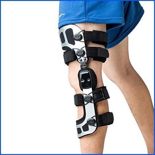 <新品>Orthomen OA Unloader Knee Brace Instability of Knee Joint or Ligament Iinjury & Protect Knee Koint After Knee Surgery(XL/Left)