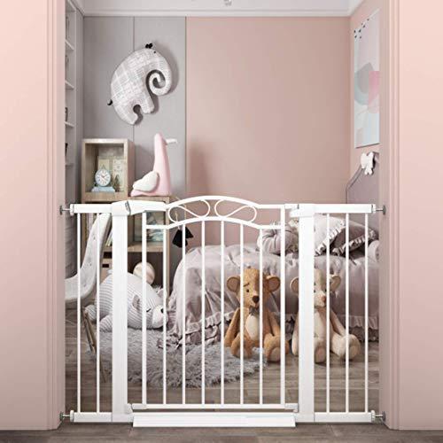 """<新品>Walk Through Baby Gate for Kids or Pets - Pressure Mount Dog Gates for Stairs and Doorways The House -Metal Pet Gate Wide 37.80"""""""