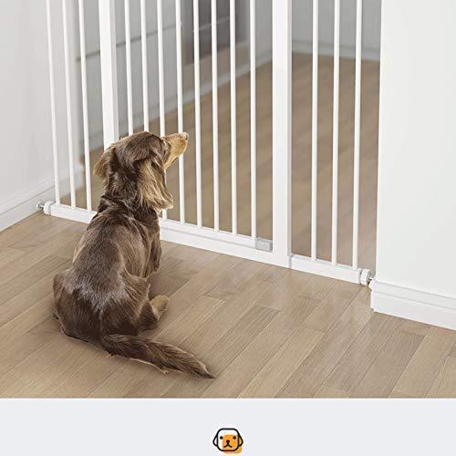 <新品>Pet Safety Gate Large Medium and Small Dog Isolation Door Stair Guardrail Safety Lock is Not Perforated 11.28 (延· Extension