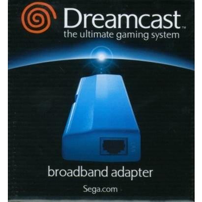 Dreamcast用LANアダプタ「ブロードバンドアダプタ」 中古 良品