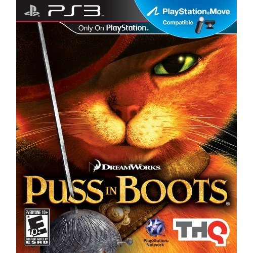 Puss in Boots (輸入版) - PS3 中古 良品