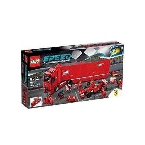 レゴ (LEGO) スピードチャンピオン F14 T スクーデリア・フェラーリ トラック 75913