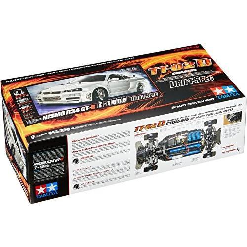タミヤ 1/10 電動RCカーシリーズ No.605 ニスモ R34 GT-R Z-tune (TT-02Dシャーシ) ドリフトスペック オンロード 58605