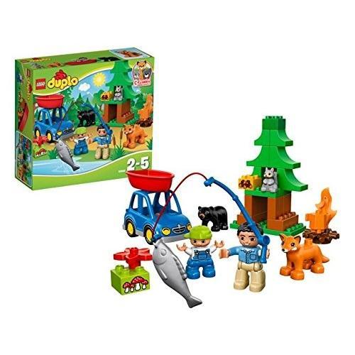 レゴ (LEGO) デュプロ の森 さかなつり 10583