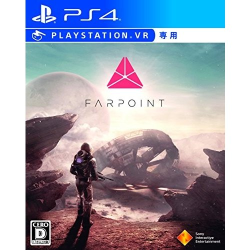 【PS4】Farpoint PlayStation VR シューティングコントローラー同梱版 (VR専用) 中古 良品