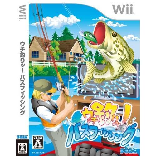 ウチ釣りッ! バスフィッシング - Wii 中古 良品