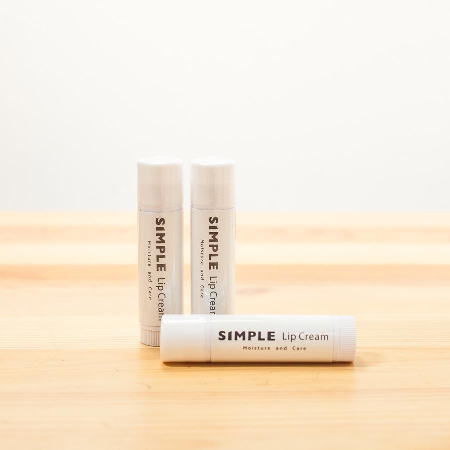 ワセリン 敏感肌 リップクリーム 【SIMPLE Lip Cream 3本セット】 シンプル 保湿 無添加 ドクターズコスメ|ksc|03