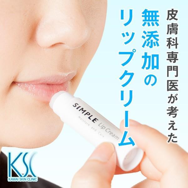 ワセリン 敏感肌 リップクリーム 【SIMPLE Lip Cream VC10 Creamセット】 シンプル 保湿 無添加 美容クリーム ドクターズコスメ ksc 02