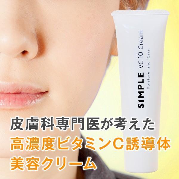 ワセリン 敏感肌 リップクリーム 【SIMPLE Lip Cream VC10 Creamセット】 シンプル 保湿 無添加 美容クリーム ドクターズコスメ ksc 03