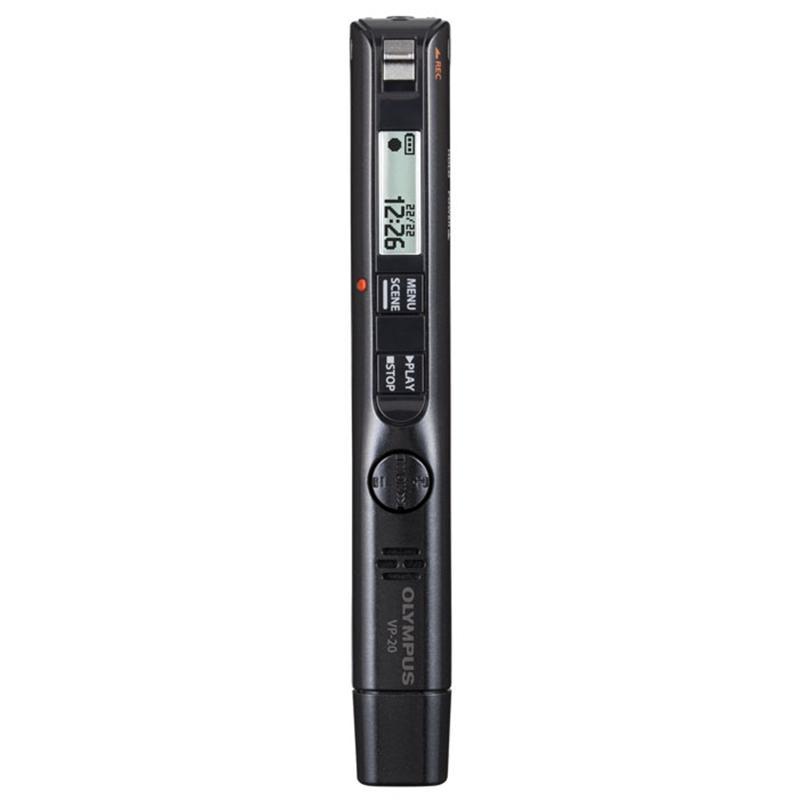 オリンパス ICレコーダー 信託 VoiceTrek 授与 メタリックブラック VP-20 BLK