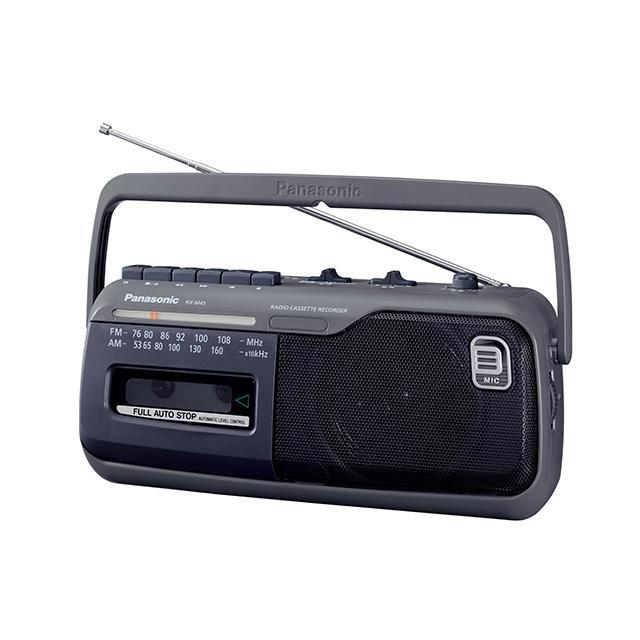 パナソニック ラジオカセットレコーダー RX-M45-H グレー